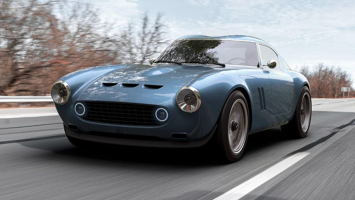 The GTO Engineering Squalo is a sub-1000kg Ferrari 250 SWB recreation