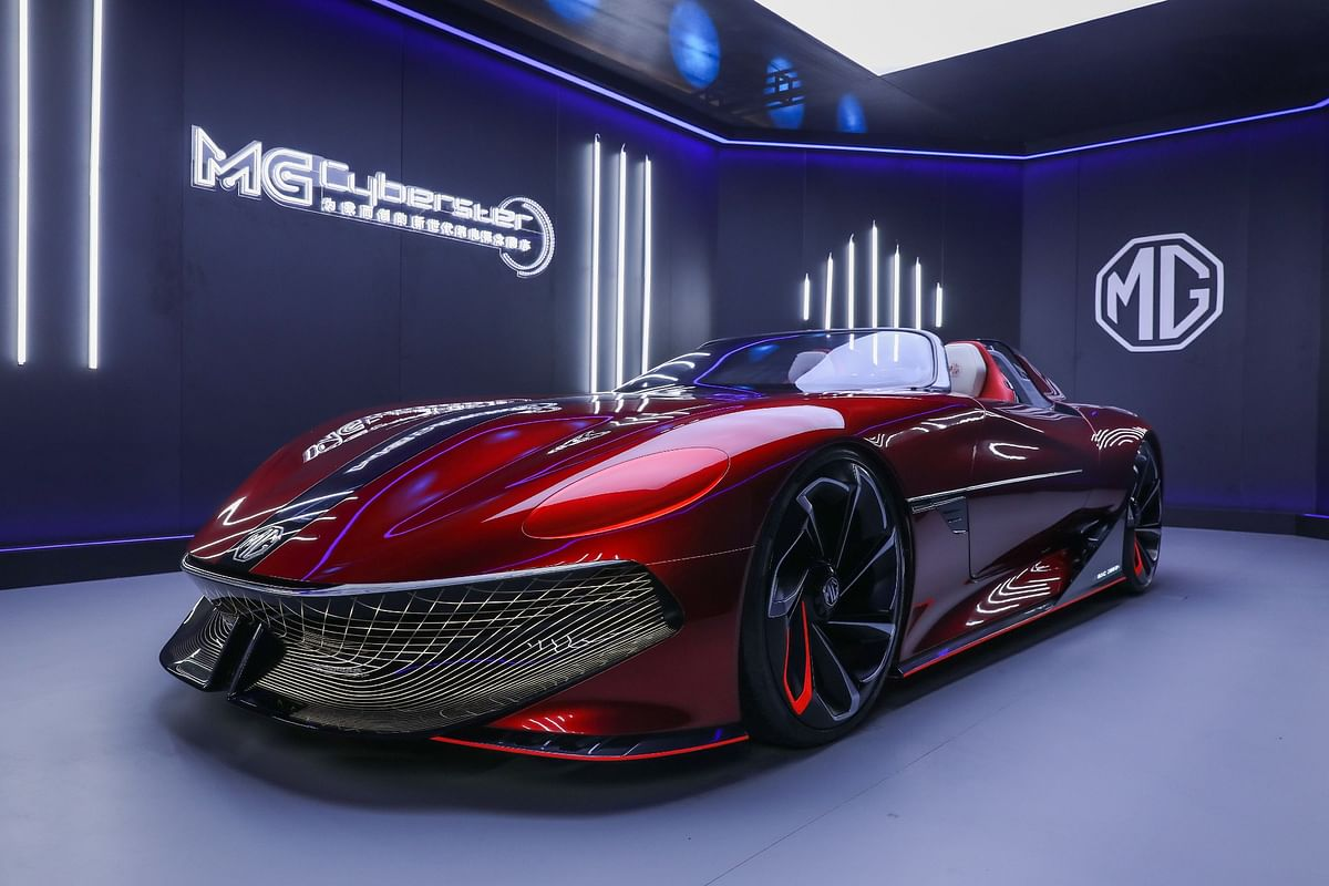 MG Cyberster Roadster revealed – a vision into MG's aesthetic future