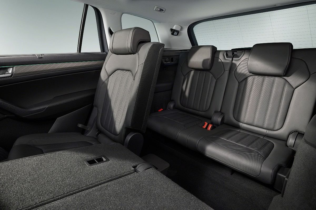 The Skoda Kodiaq continues to offer a seven seat layout option