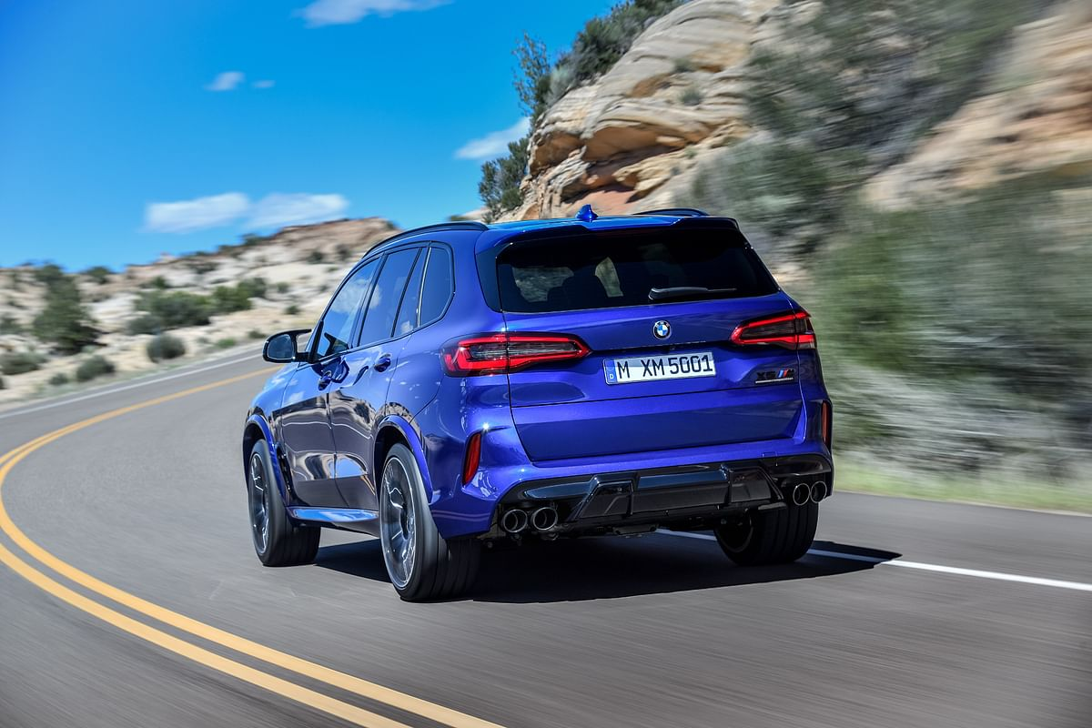 The BMW X5 M Competition gets a more stiffer suspension setup