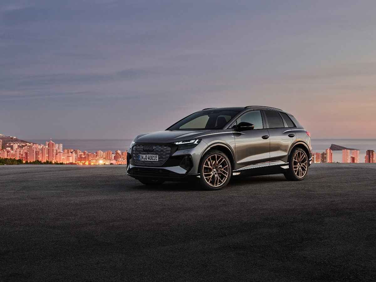 The Audi Q4 e-tron will be available in a choice of eight different color shades