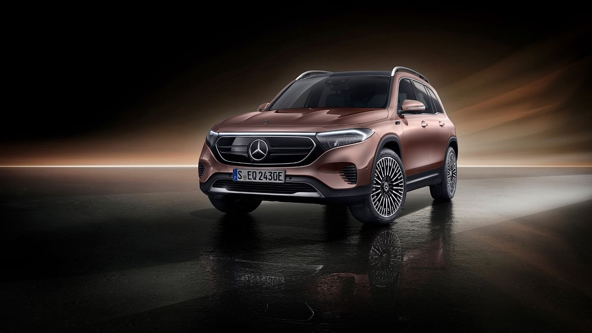 2021 Mercedes-Benz EQB revealed: New seven-seater mid-size electric SUV from Stuttgart