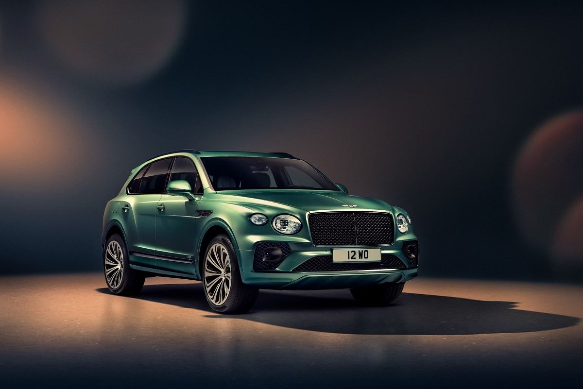 The facelifted Bentley Bentayga gets a bigger grille and a new front bumper