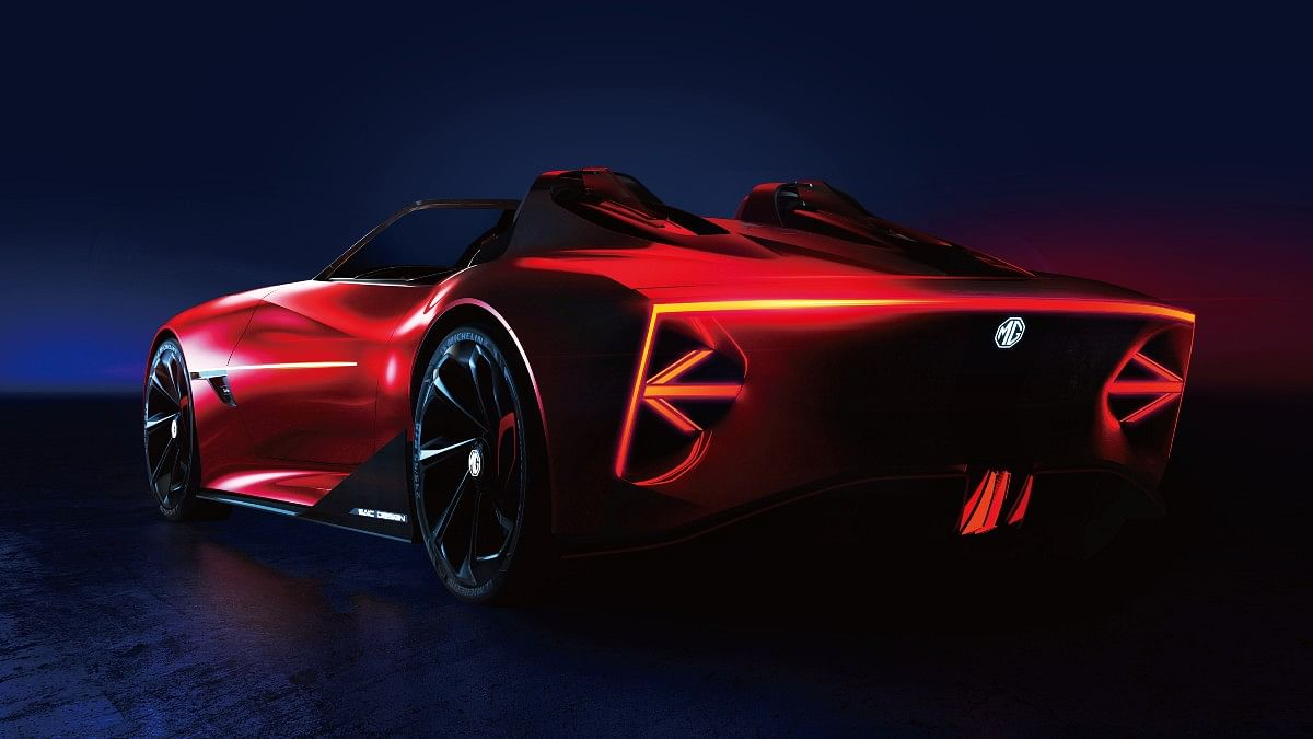 The MG Cyberster gets a 'kamm tail' design