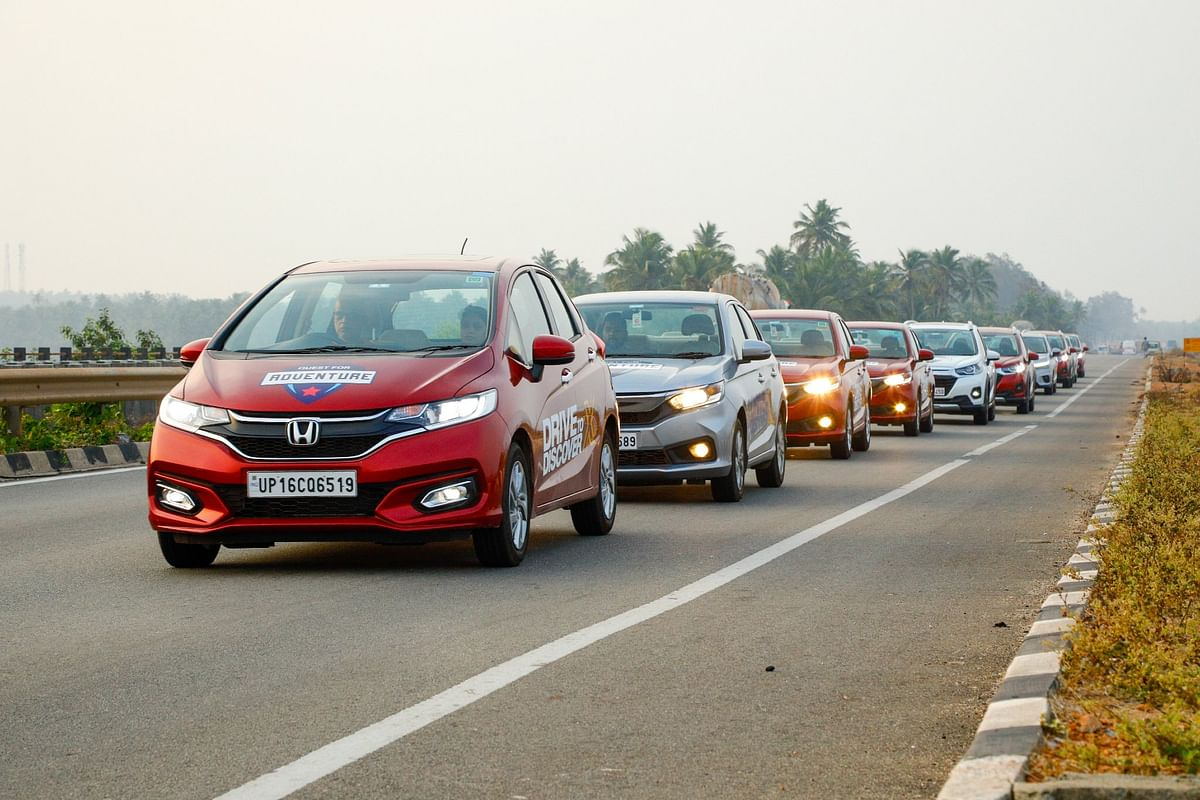 Drive to Discover X: Chasing adventure in a convoy of Honda cars in the south of India