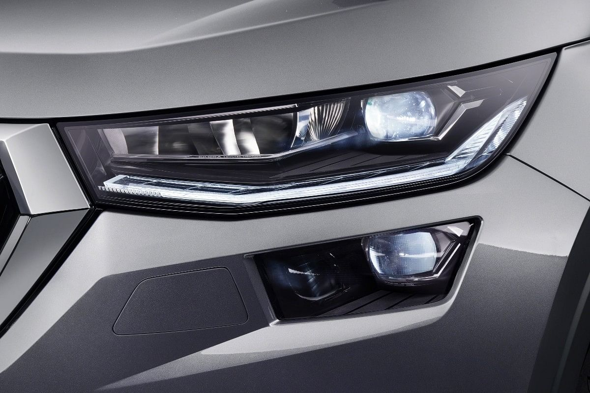 "2021 Skoda Kodiaq gets ""four-eye"" look Matrix LED Headlights"