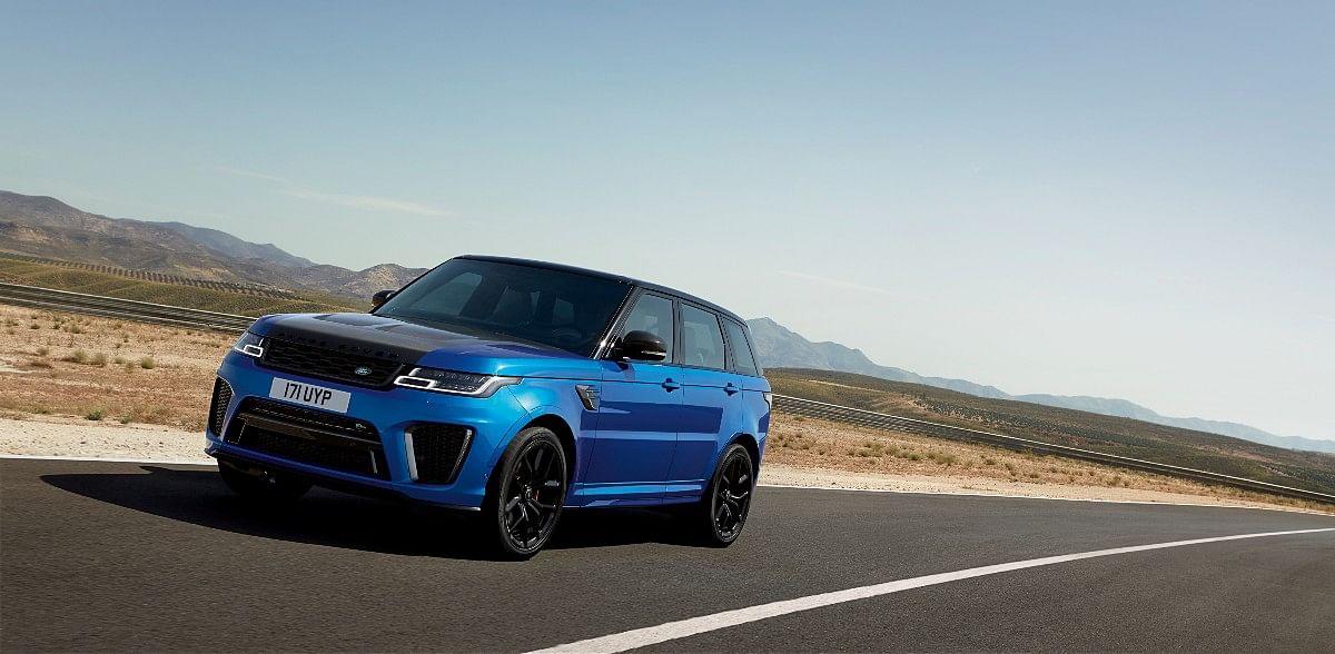 The Range Rover Sport SVR gets a 5-litre supercharged V8 that sounds unworldly