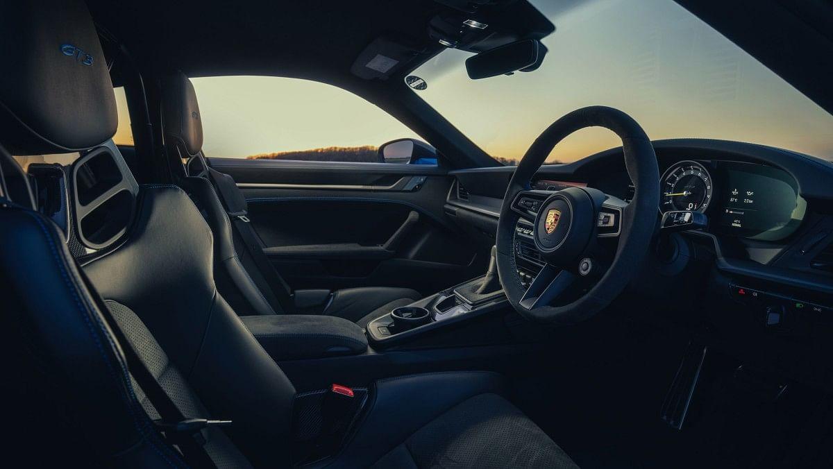 The new 911 GT3 gets a whole lot of Alcantara trim inside