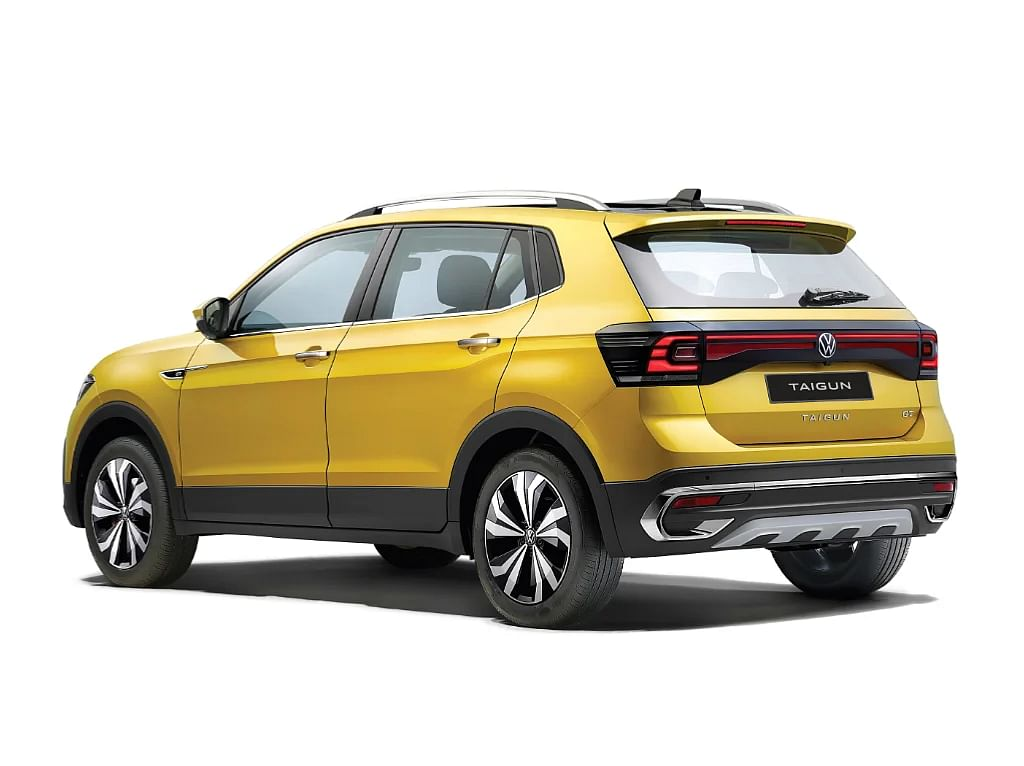 The Volkswagen Taigun gets a tall roof for more headroom inside