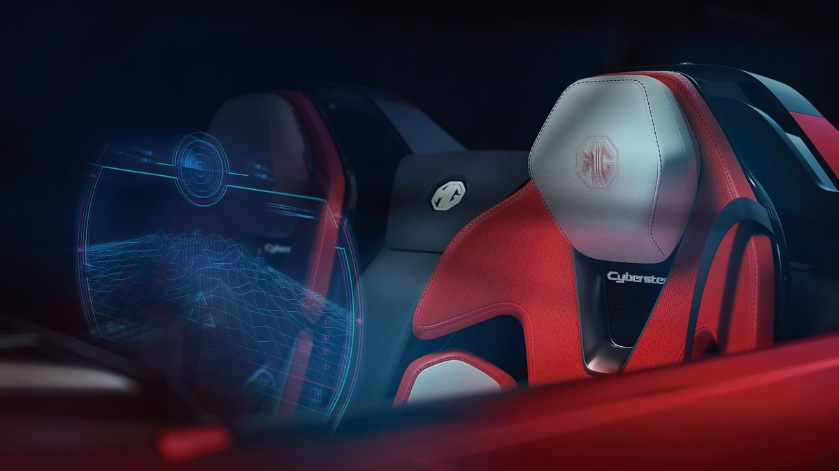 The MG Cyberster gets a futuristic interior