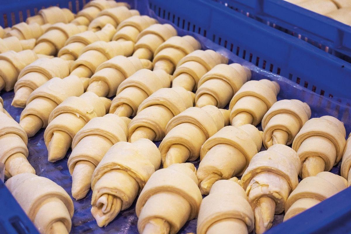 Croissants before