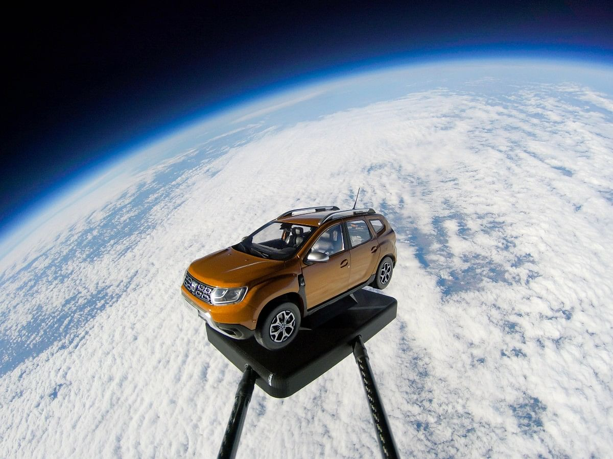 The Dacia Duster will be your companion in the quest to explore outer space.