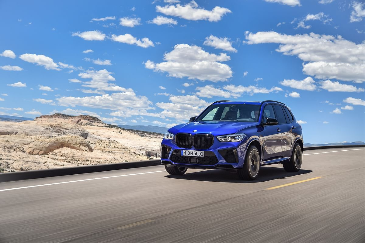 The BMW X5 M Competition gets an additional 16bhp