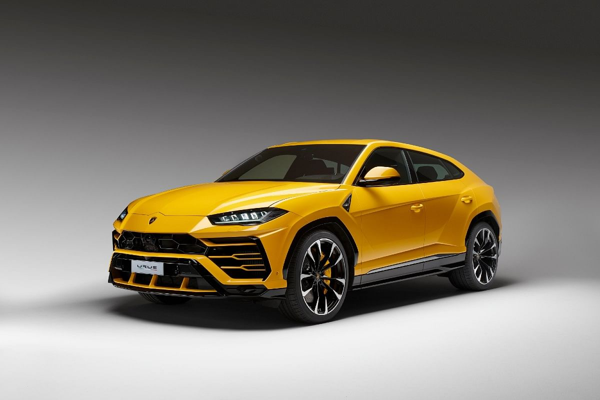 The Lamborghini Urus is powered by a 4-litre twin-turbo V8 making 641bhp