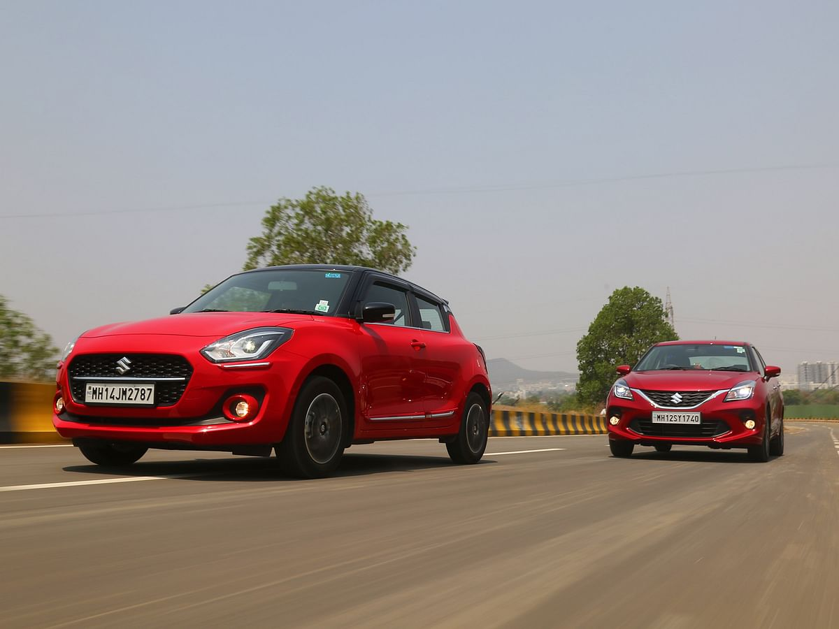 2021 Maruti Suzuki Swift AGS v Baleno CVT: Which one should you buy?