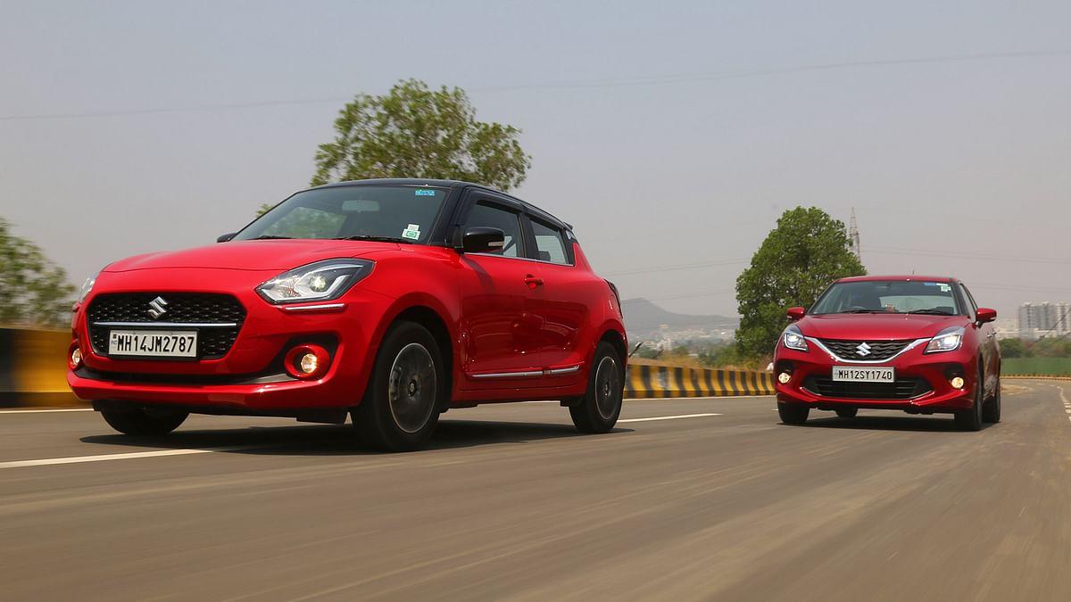 2021 Maruti Suzuki Swift AGS v Baleno CVT: Which one should you buy?
