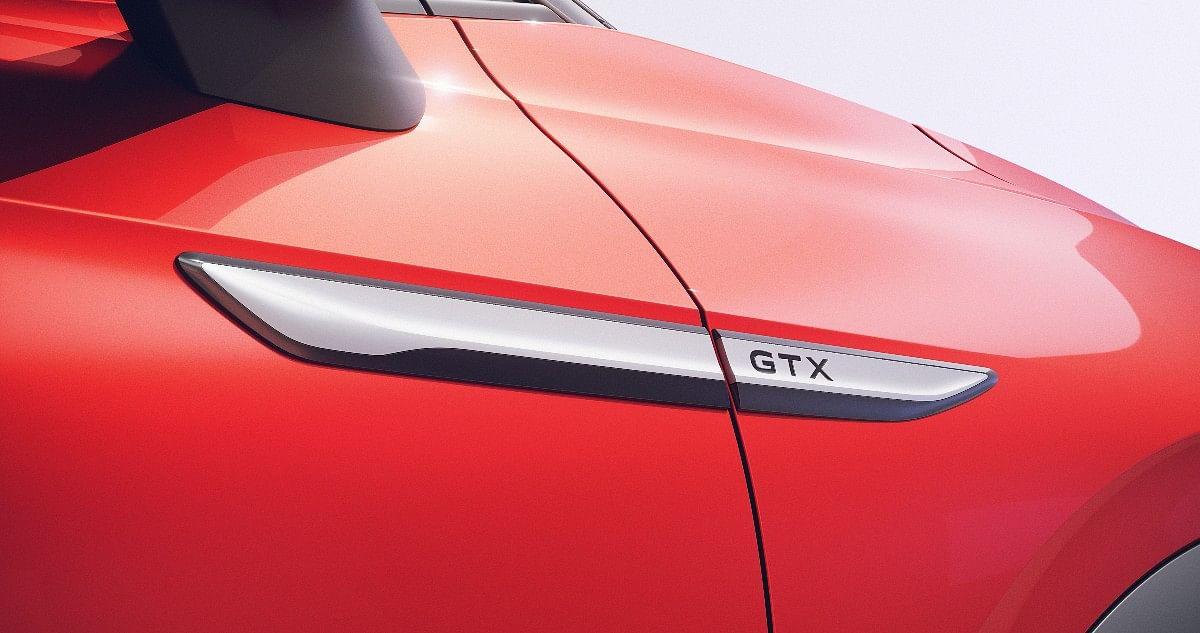 The Volkswagen ID.4 GTX gets GTX badging on the fenders