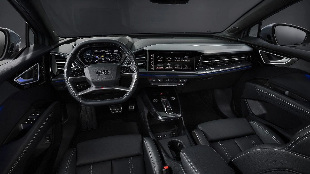 The Audi Q4 e-tron gets the biggest infotainment touchscreen ever fitted to any Audi