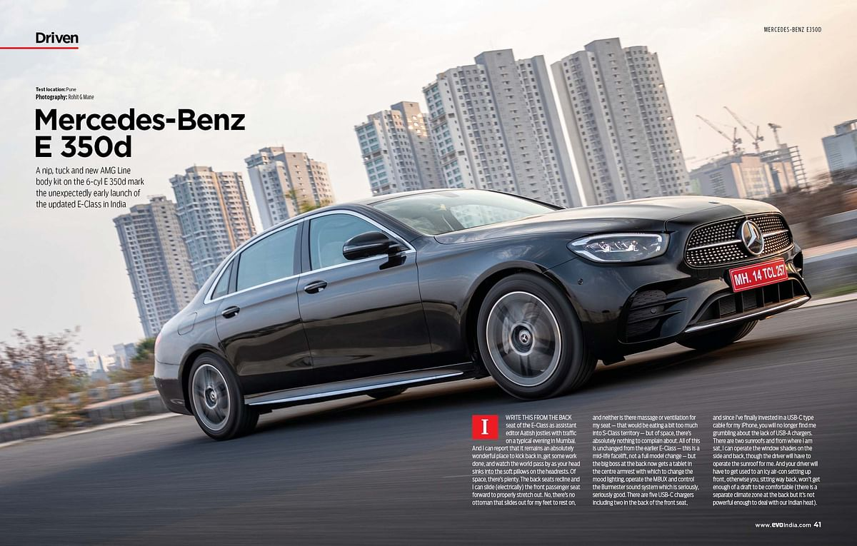 Say hi to new Mercedes-Benz S-Cla...  oh wait, it's the long wheelbase E-Class