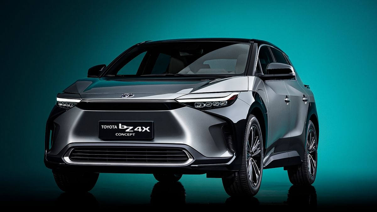 Toyota bZ4X concept SUV unveiled