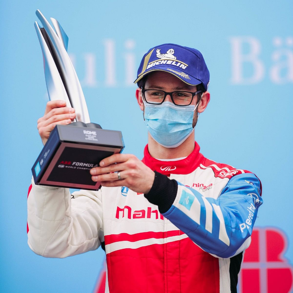 Alexander Sims podium finish at Rome E-Prix