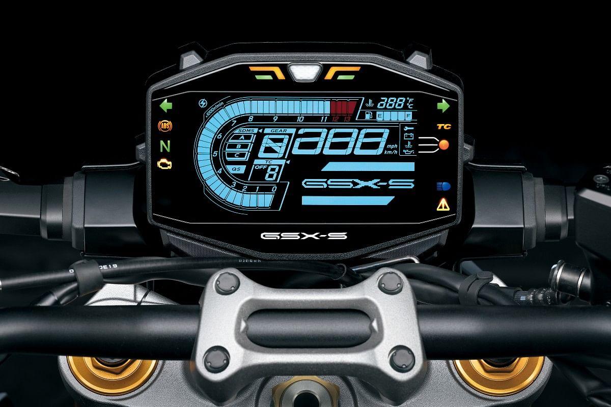 2021 Suzuki GSX-S1000 instrument cluster