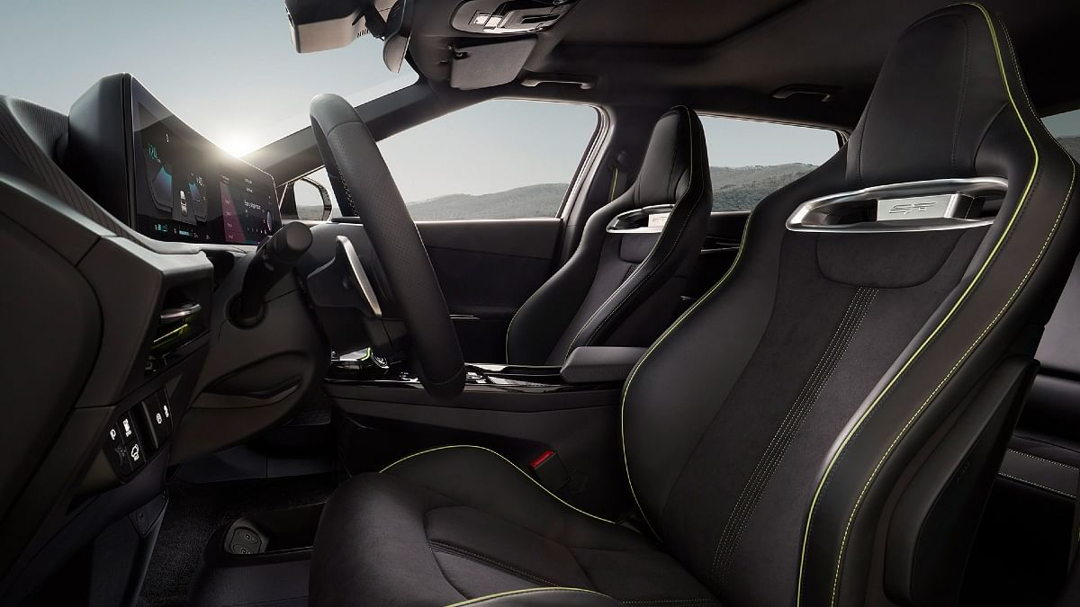 The Kia EV6 GT gets sportier heavily bolstered seats