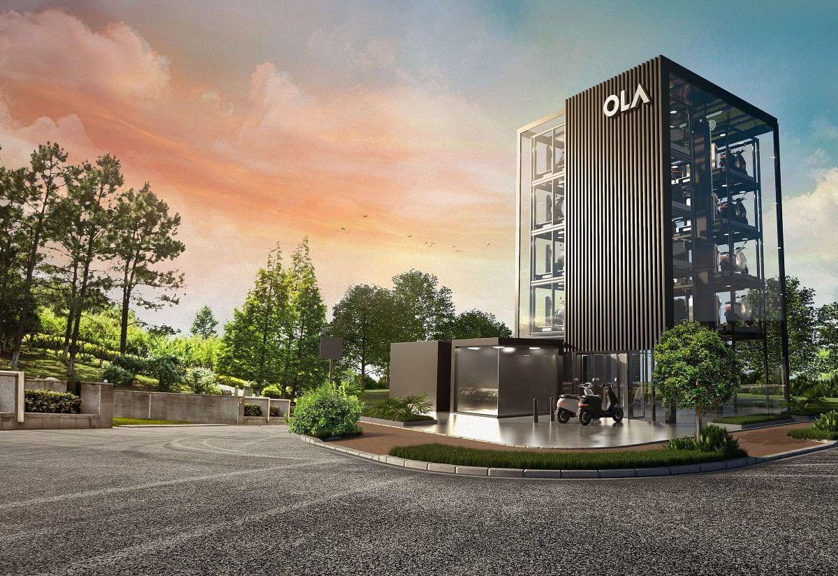 Ola Hypercharger Network Tower