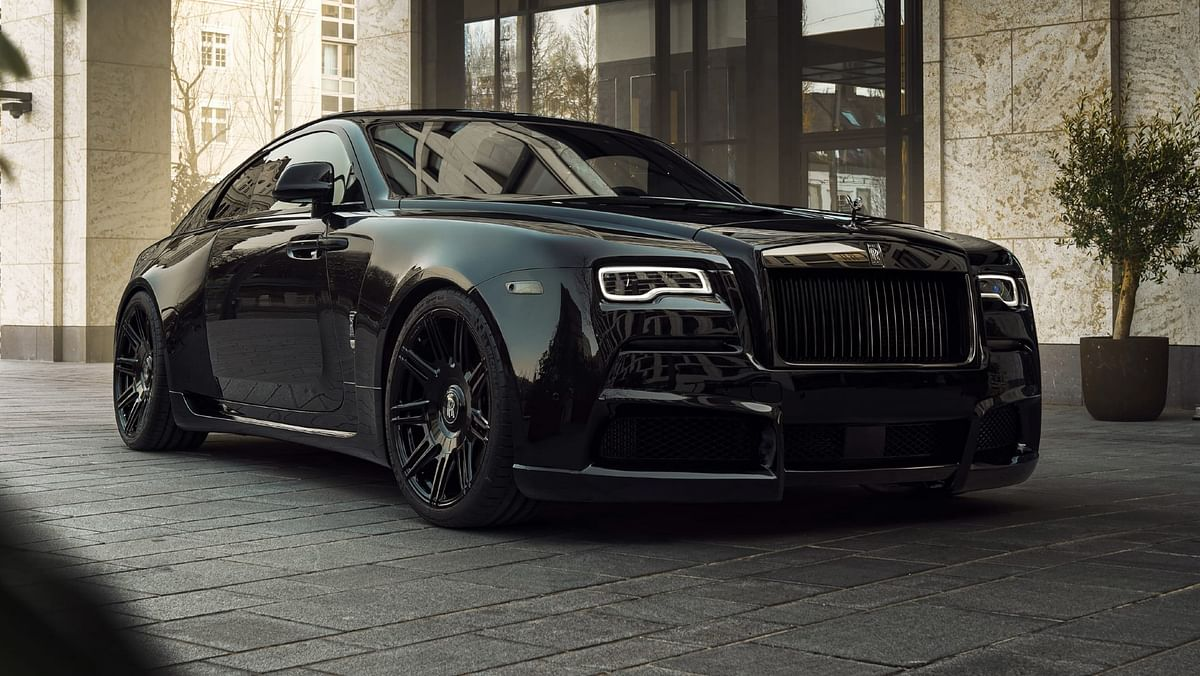 Novitec's widebody Rolls-Royce Wraith produces 707bhp