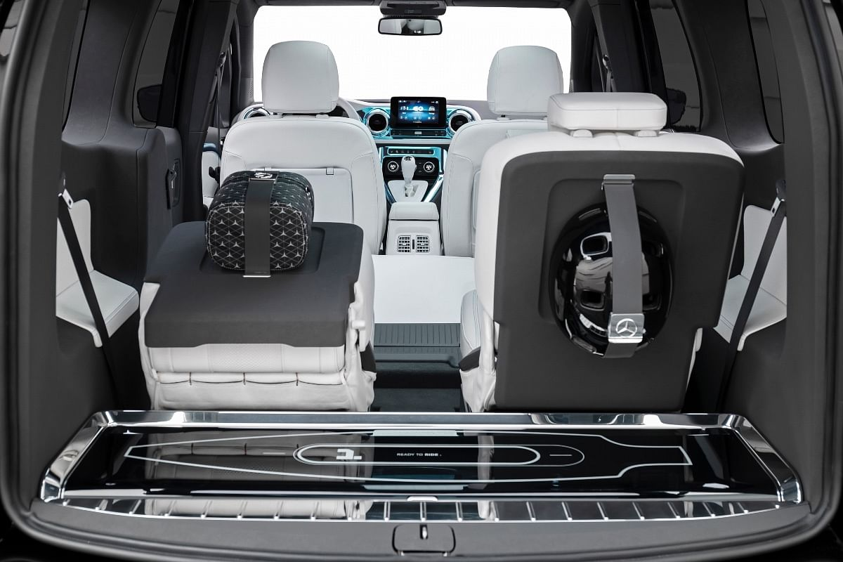 EQT has loads of space on the inside thanks to its boxy shape