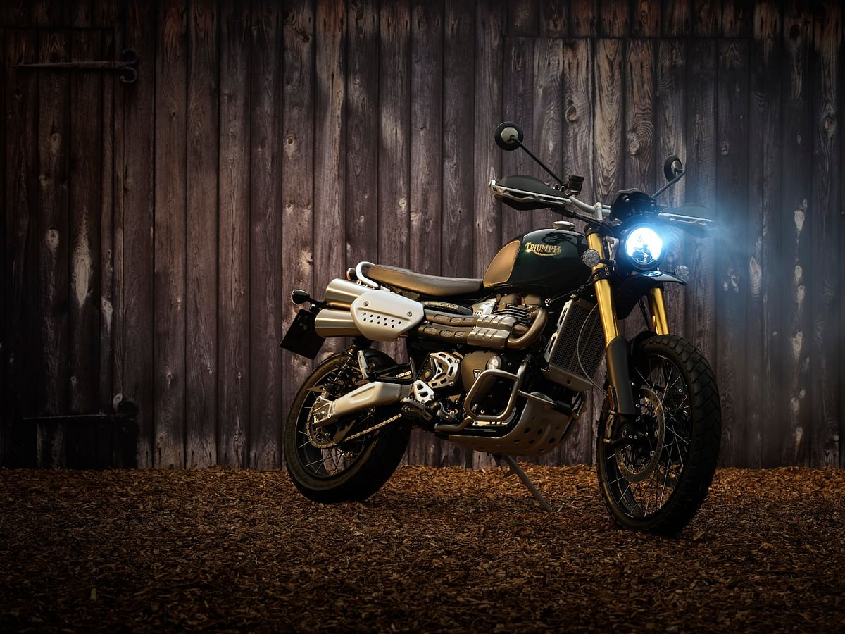 Limited edition Triumph Scrambler 1200 Steve McQueen and Street Scrambler 900 Sandstorm Editions launched in India