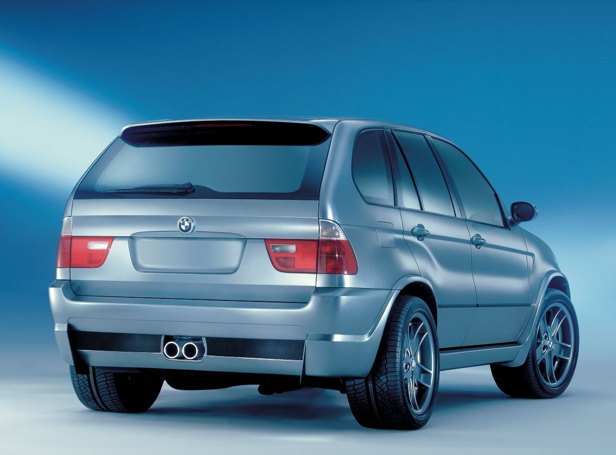 The central twin-mounted exhausts are a subtle nod to the power lurking
