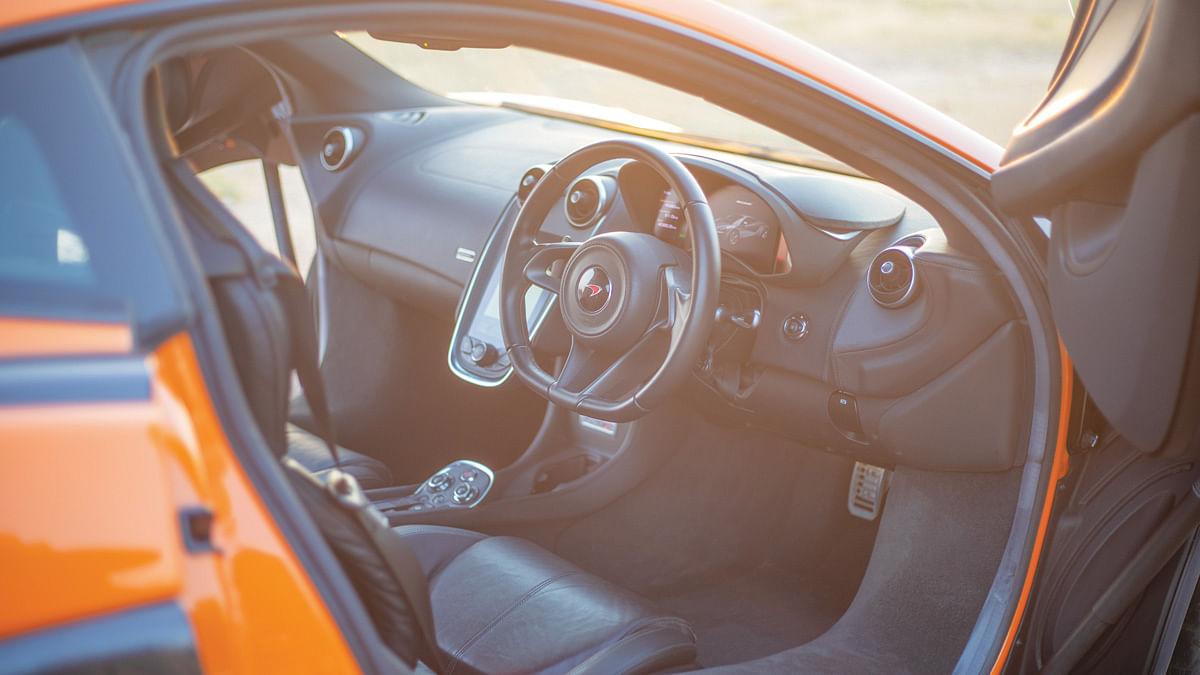 Exquisite interiors on the McLaren 570S