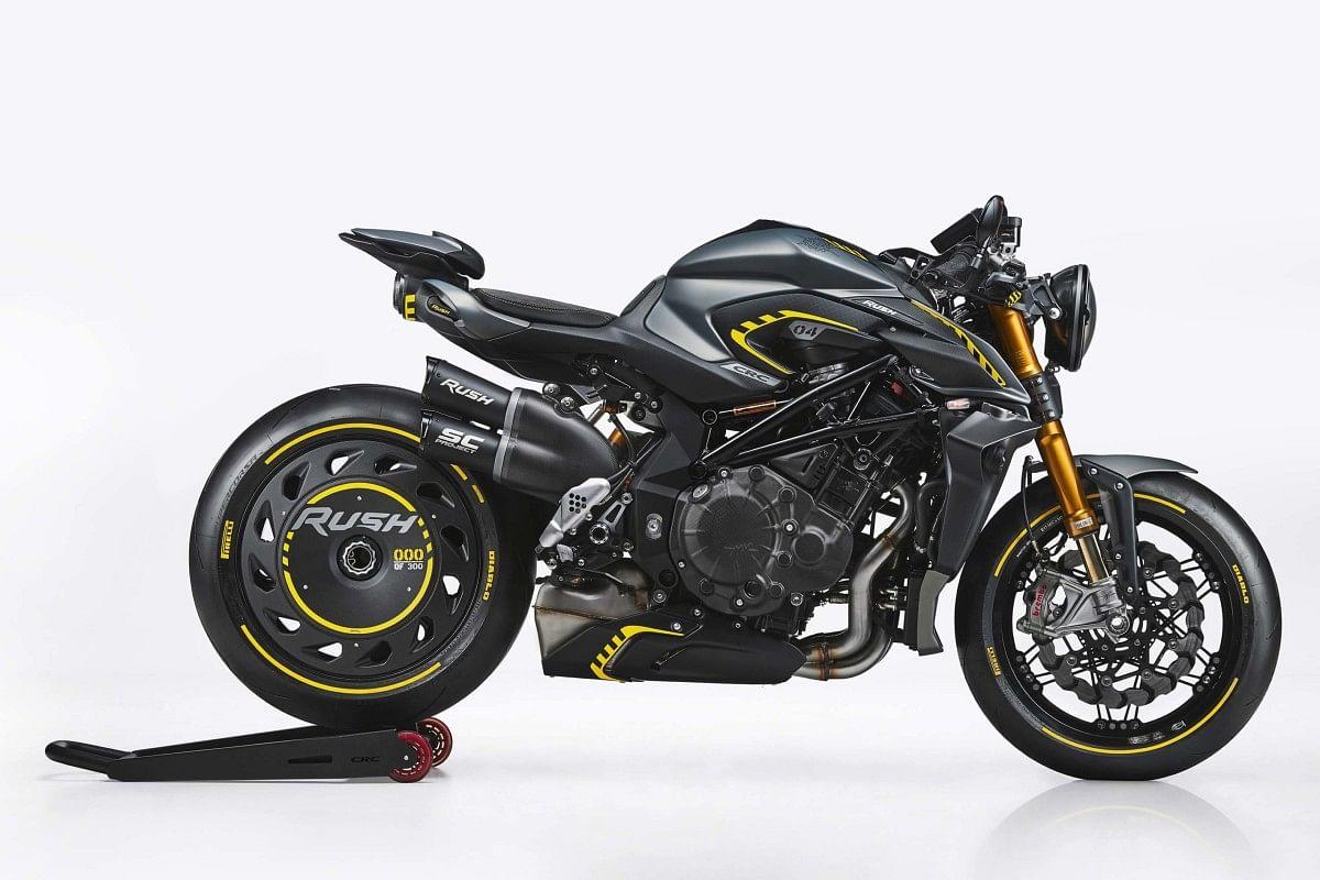 MV Agusta Rush 1000 with race kit