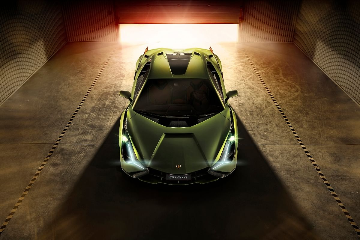 The Sian was the first Lamborghini to feature hybrid technology