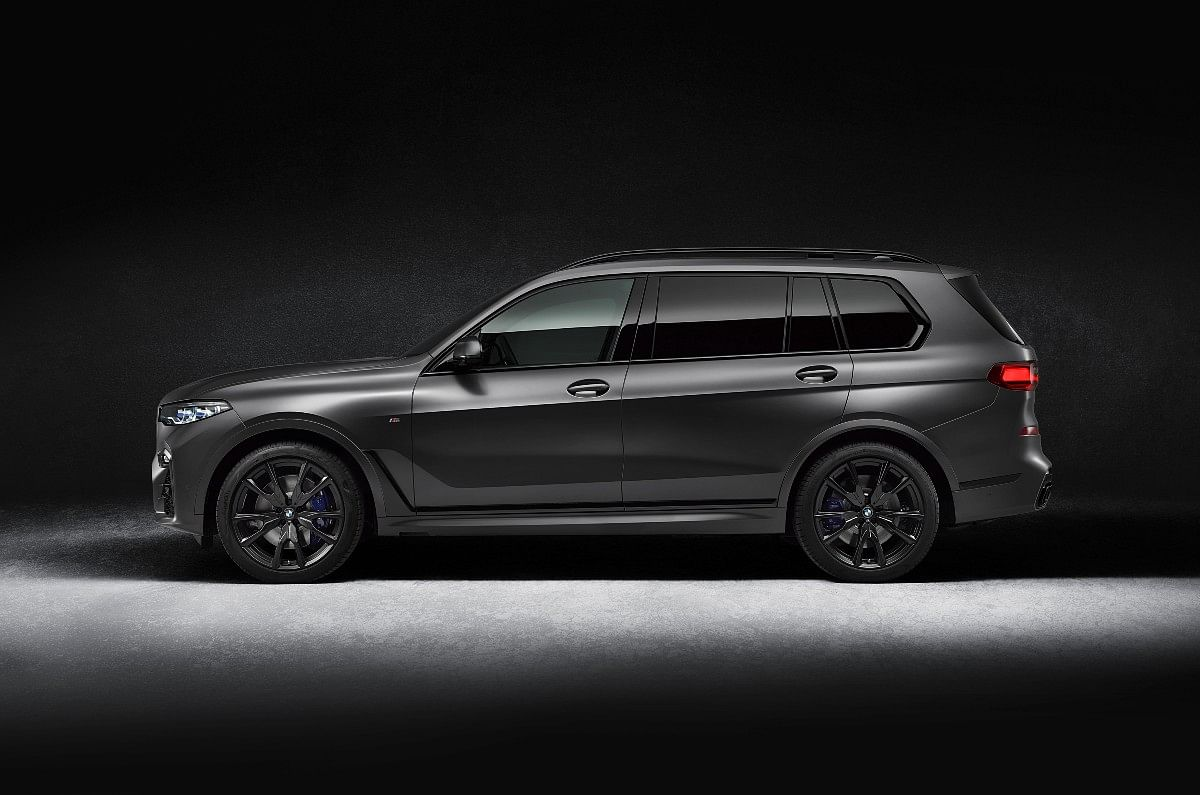 The X7 Dark Shadow Edition looks sinister to say the least