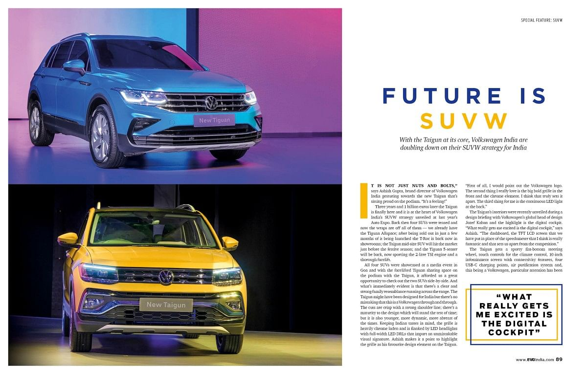 Many more Volkswagen SUVs are coming our way