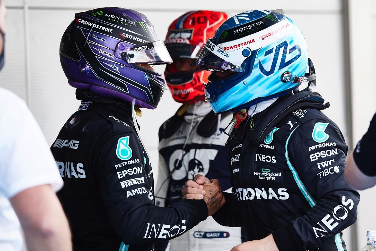 Lewis and Valtteri seem to have a good working relationship
