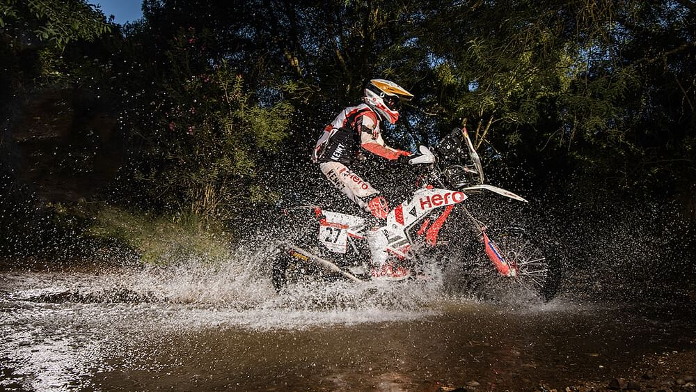 Hero MotoSport riders grab fourth, fifth and eight place at 2021 Andalucia Rally