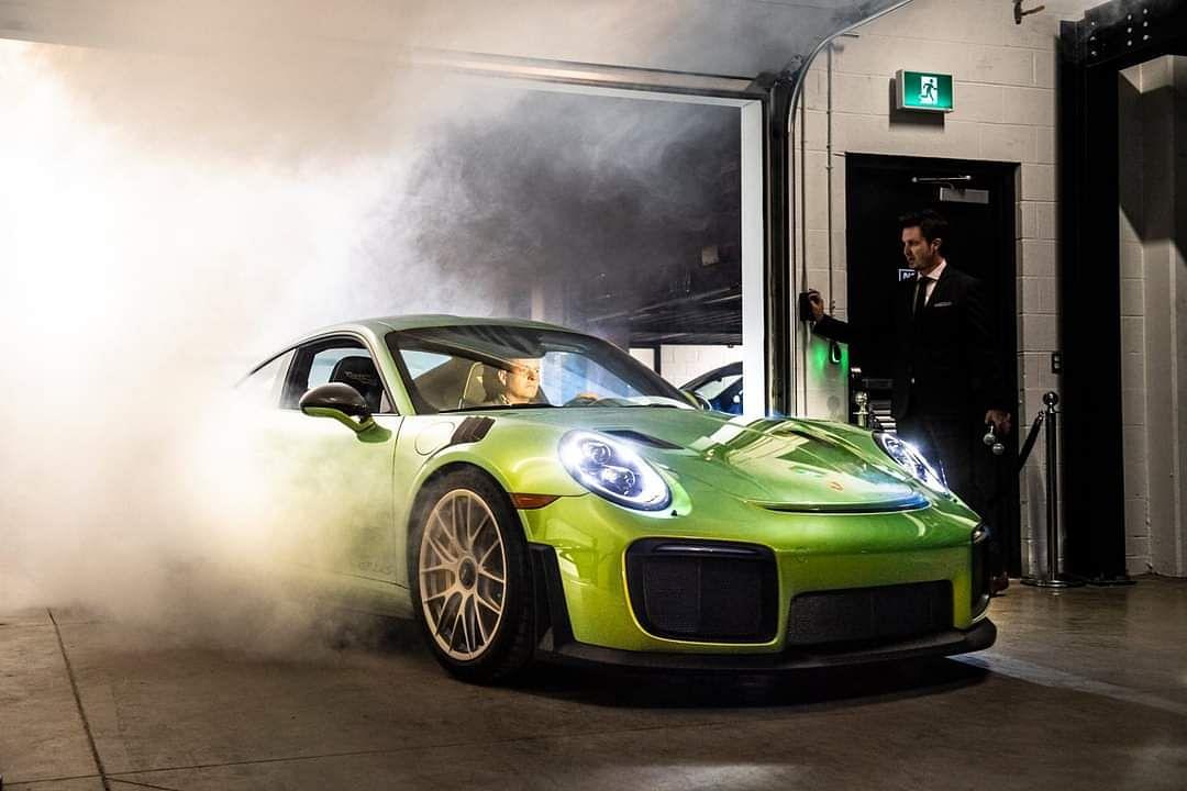 Python Green Chromaflair GT2 RS