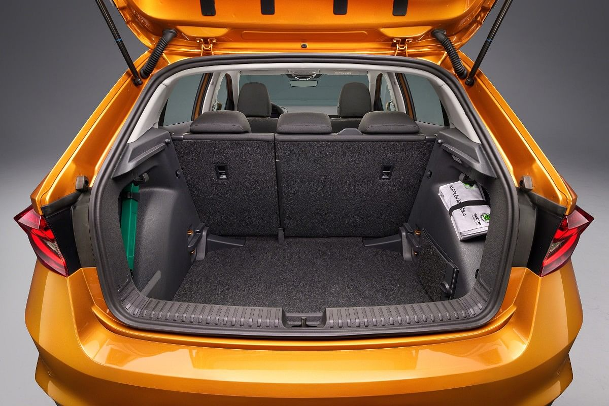 The new Skoda Fabia claims to have the largets boot in its class at 380 litres