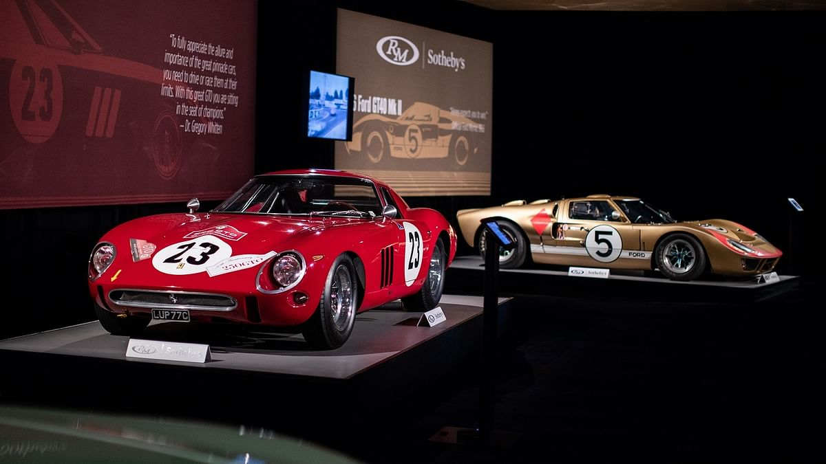 Top 10 most expensive cars sold at an auction