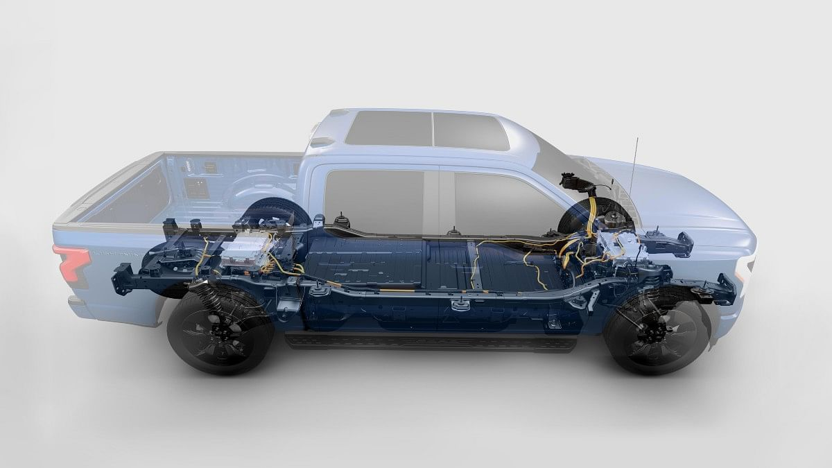 The Ford F-150 Lightning gets a dual-motor setup on all variants