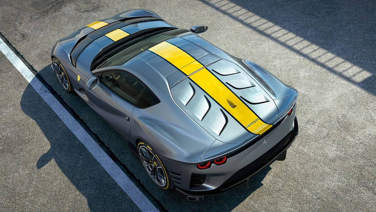 The Competizione gets a new rear design
