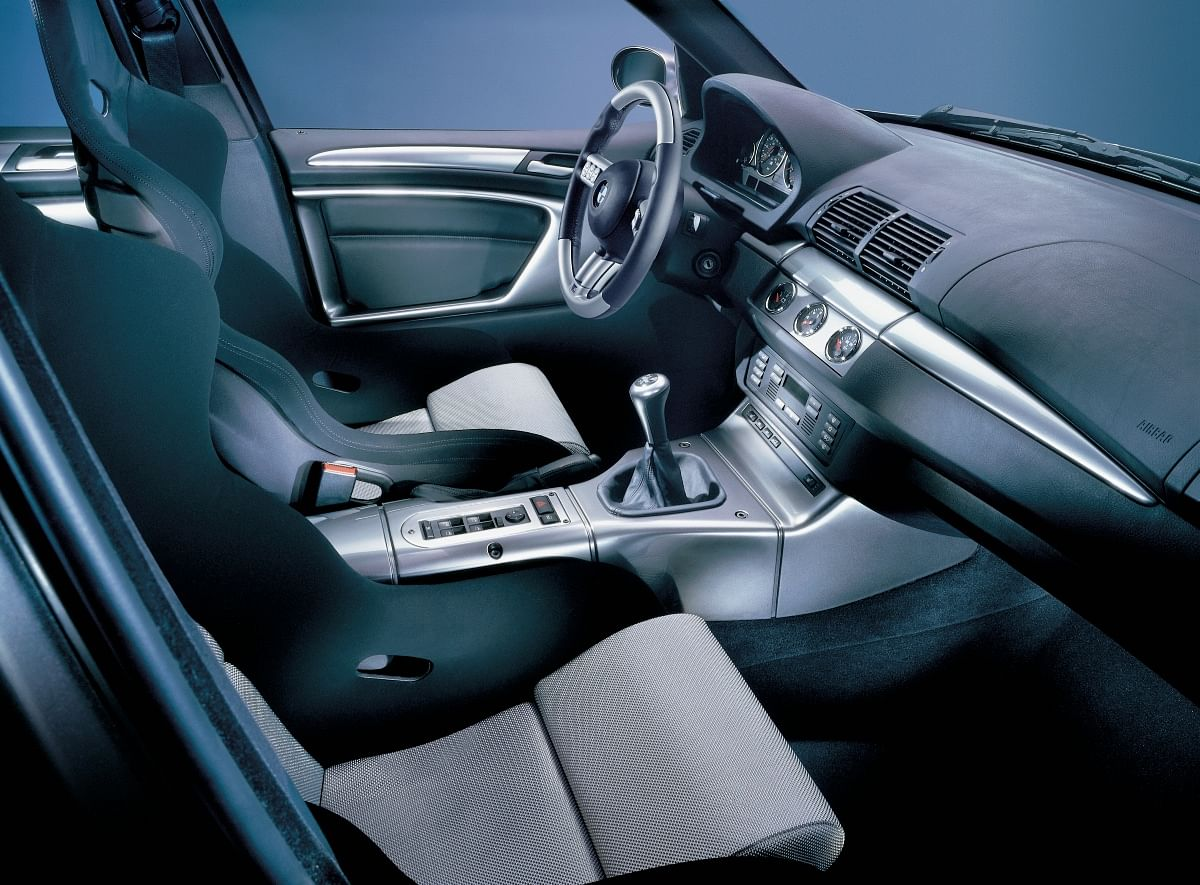 Interior of the X5 Le Mans stays largely similar to the standard X5
