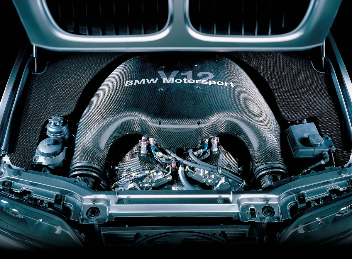 The X5 Le Mans' V12 made more power than the Le Mans-winning V12 LMR it borrows the engine from