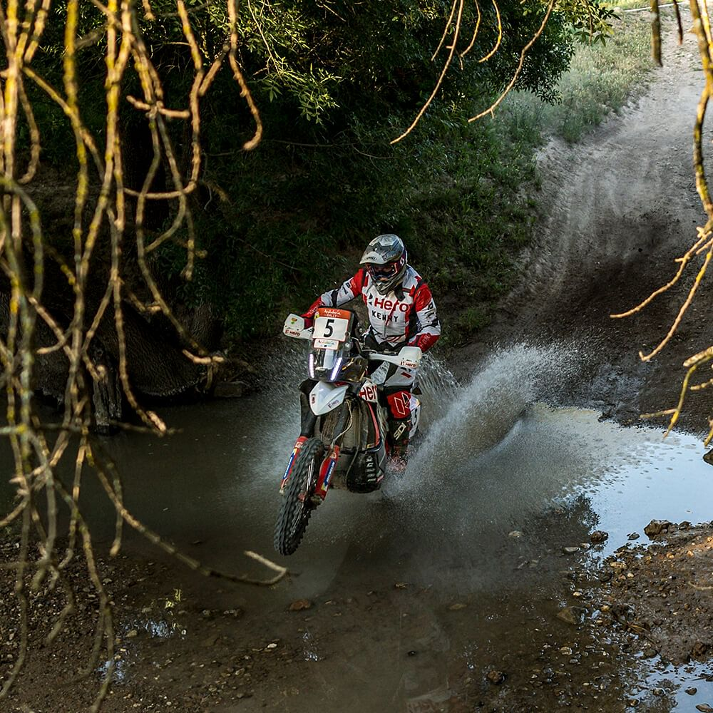 The Andalucia Rally conists of terrain both wet and dry