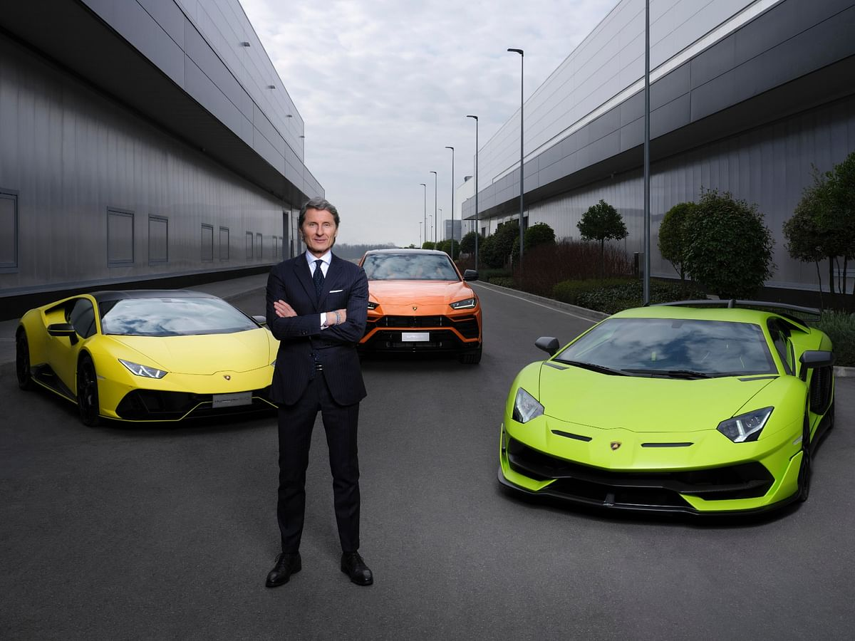 Lamborghini to be fully electrified by 2024