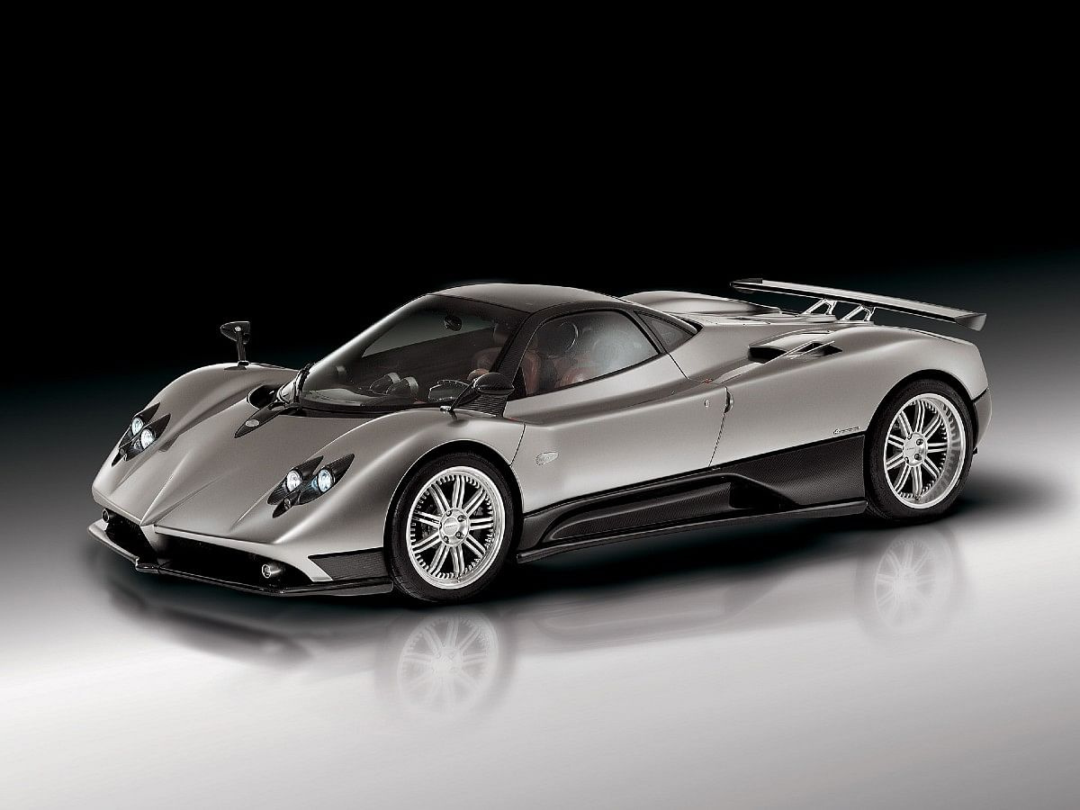 A total of only 25 Pagani Zonda F Coupés were made, followed by 25 Zonda F Roadsters