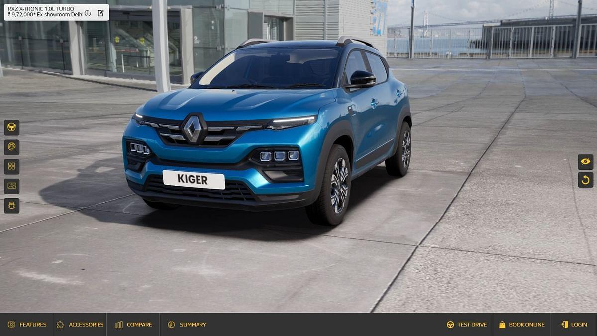 Renault Kiger Virtual Studio walkthrough